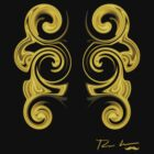 Double Gold Swirl by Hedges Creations
