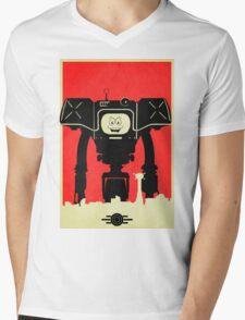 Yes Mens V-Neck T-Shirt