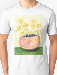 Wall art print Flower Vase C Unisex T-Shirt