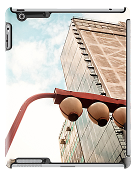 Sky and Building - Japanese [ iPad / iPod / iPhone Case ] by Mauricio Santana