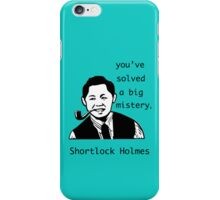 Shortlock Holmes iPhone Case/Skin