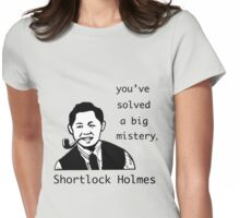 Shortlock Holmes Womens Fitted T-Shirt