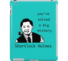 Shortlock Holmes iPad Case/Skin