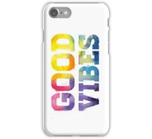 Multi-Colored: Good Vibes - Iphone Case  iPhone Case/Skin