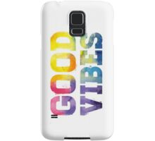 Multi-Colored: Good Vibes - Iphone Case  Samsung Galaxy Case/Skin