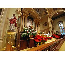 Chancel St. Marys Historic Catholic Church Photographic Print