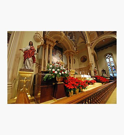 Chancel St. Marys Historic Catholic Church Photographic Print