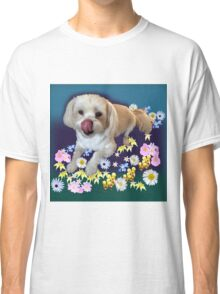 Doggy in the Garden Classic T-Shirt