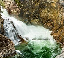 Cascade Falls on the Kettle River by Jim Stiles