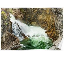 Cascade Falls on the Kettle River Poster