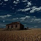 Burra Ruin, Clouds and Stars by pablosvista2