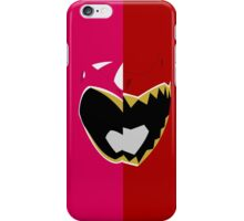 Pink N Red - Dino Charge iPhone Case/Skin