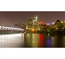 Downtown Calgary. Photographic Print