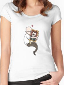 Community: Dean and Jeff Women's Fitted Scoop T-Shirt