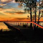 Jetty Sunset  by Nickie