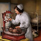 Nurse - The pediatrics ward 1943 by Mike  Savad