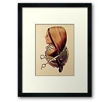 Cut Framed Print