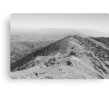 Devil's Backbone-Mt. San Antonio peak Canvas Print
