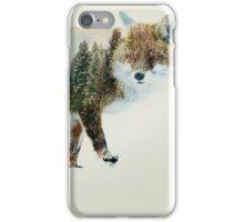 winter fox iPhone Case/Skin