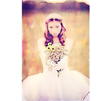 Handpicked by a Princess Photographic Print