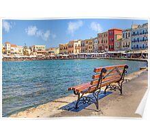 Chania - Crete - Greece Poster
