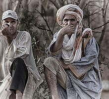Cameleers in Morocco by DareImagesArt