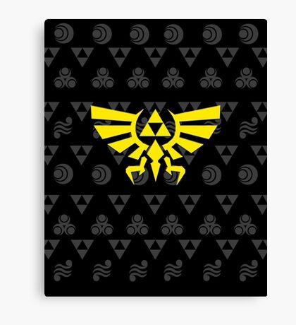 Zelda mix Canvas Print