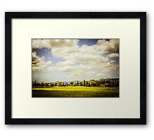 HDR Oregon Framed Print