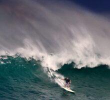 Surfer at Sunset Beach 2 Sticker
