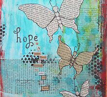 Hope butterflies by Krissy  Christie