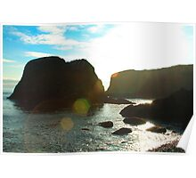 Sunflare Rock Poster