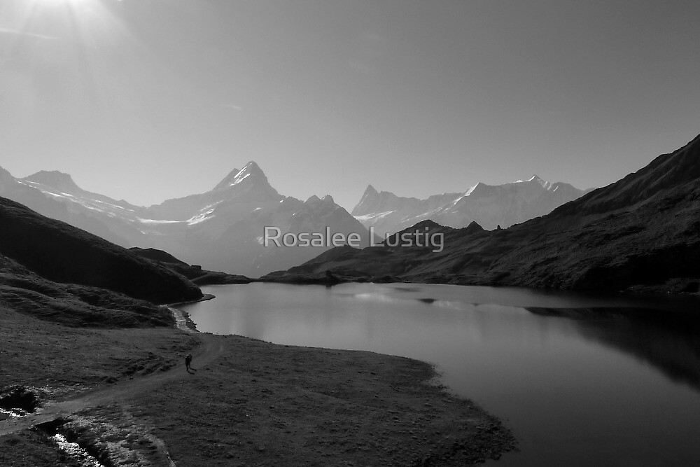 "Bachalpsee-Switzerland ""Top of the World"" by Rosalee Lustig"