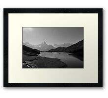 "Bachalpsee-Switzerland ""Top of the World"" Framed Print"