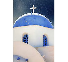 Santorini - Greece Photographic Print