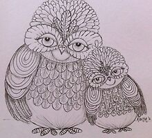 Friendship owls by Krissy  Christie