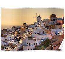 Santorini - Greece Poster