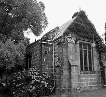 St. Johns Anglican Church. Kincumber. B&W by TJSphoto
