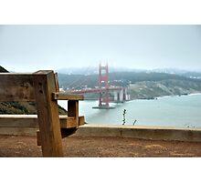 Watching San Francisco Photographic Print