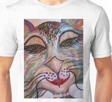 Flirty Funky Feline Unisex T-Shirt