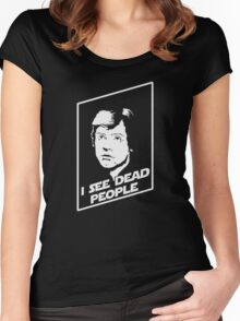 I see dead people Women's Fitted Scoop T-Shirt