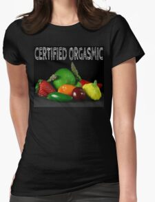 Certified Orgasmic Womens Fitted T-Shirt