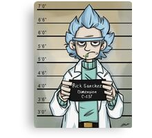 Rick and Morty - The Usual Suspect - Rick Canvas Print
