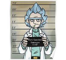 Rick and Morty - The Usual Suspect - Rick Poster