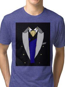 Victorian Tuxedo Shirt Costume Tri-blend T-Shirt