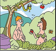 Adam and Eve Atkins by Tim Wells