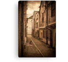 Doggy in Looe Canvas Print