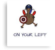 sassy turkey Canvas Print