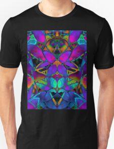 Floral Fractal Art T-Shirt