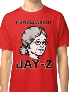 I Know About JAY-Z! Classic T-Shirt