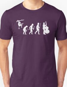 Funny Double Bass Evolution T-Shirt